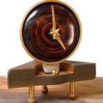 """Eleanor's Pride"" table clock"